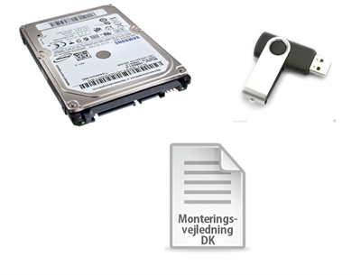 2000GB / 2TB SSHD Harddisk-upgrade-kit for PS4