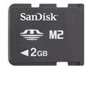 2GB M2 - Memory Stick Micro for bl.a. PSP GO