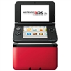 Nintendo 3DS  XL konsol, Red + Black (m. oplader)