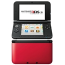Nintendo 3DS  XL konsol, Red + Black