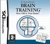 Brain Training - How old is your brain (DS spil)