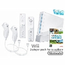 Nintendo Wii Konsol med Wii Sports [2-Player Pack]