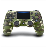 Sony PS4 Dualshock controller v2, Green Camouflage / Camo