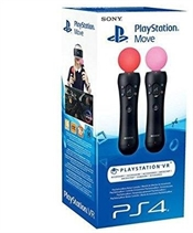Sony Playstation Move Motion Controller v1- Twin Pack (PS3 / PS4)