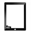 iPad 2 touch-skærm (glas + digitizer) i sort