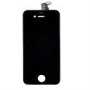 iPhone 4S Front glas i sort (glas + touch + LCD - samlet)