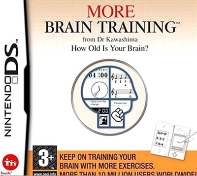 More Brain Training - How old is your brain (DS spil)