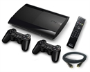 PS3 Super Slim konsol (500 GB) [ MEGA Pakke ]