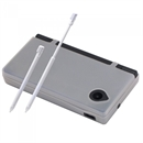 Silicone cover + 2 stylus for Nintendo DSi - Hvid
