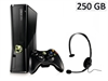 Xbox360 Slim 250GB (mat sort)